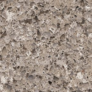 Greyish Quartz Work Surface Silestone Alpina White Detail