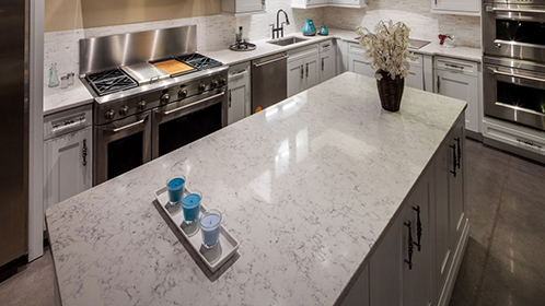Silestone Bianco Rivers Gallery Images 2