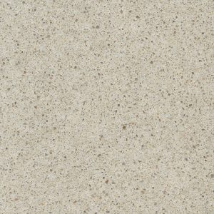 Cream quartz Silestone Blanco City zoomed in detail view of colour.