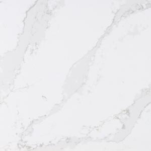 white vein worktop Silestone Eternal Calacattta Gold detail